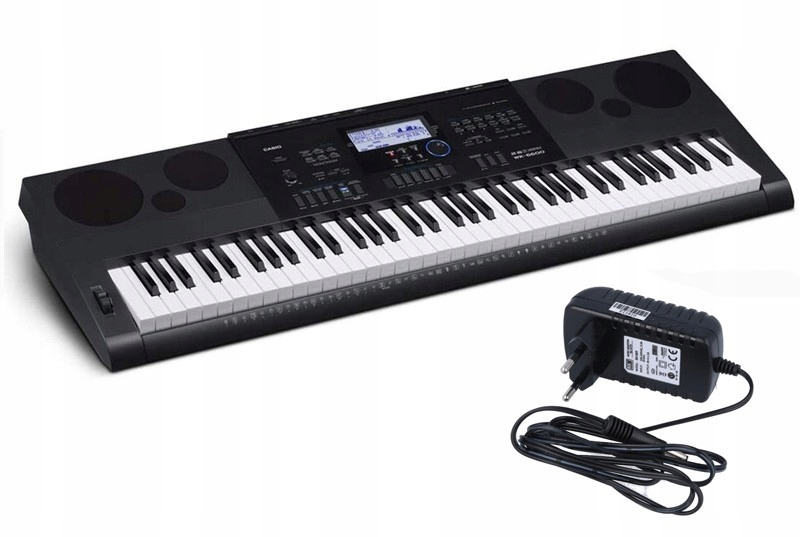Casio WK-6600 Keyboard Edukacyjny