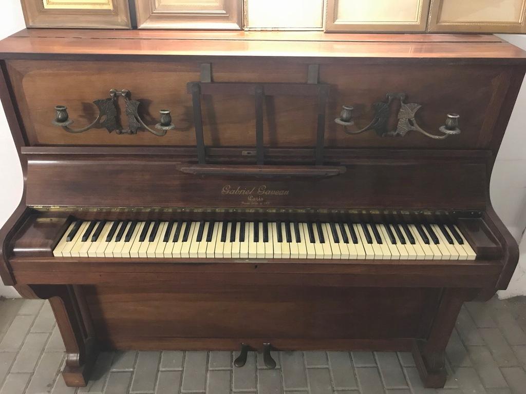Pianino Art Deco Gabriel Gaveau (Paryż 1911r)