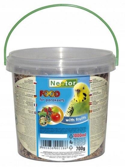 Nestor Pokarm dla małej papugi owocowy 1L