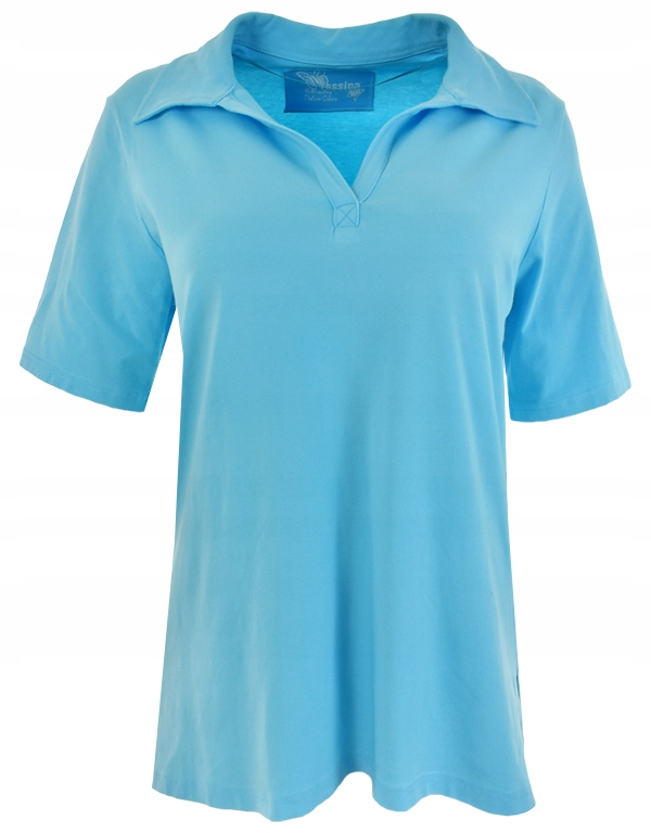 eXX4022 C&A niebieska koszulka polo 46