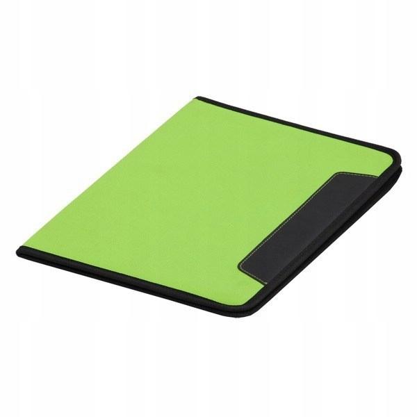 Teczka A4 Ortona, zielony/czarny