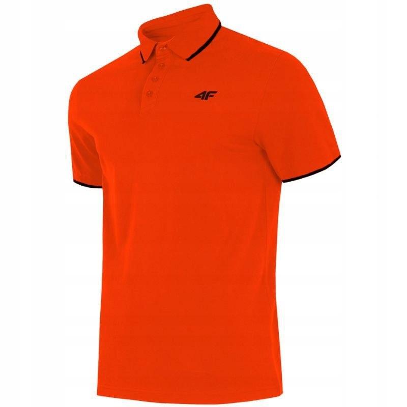 Koszulka 4f M H4L19-TSM024 pomarańczowa