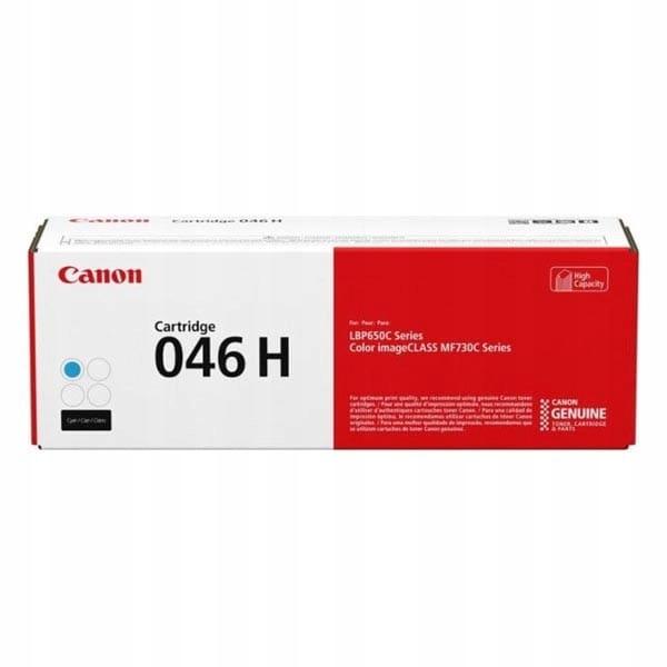 Canon oryginalny toner 046HC, cyan, 5000s, 1253C00