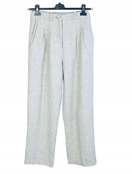 Spodnie wełniane Reserved 36 S