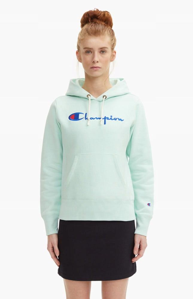 champion reverse weave bluza niebieska