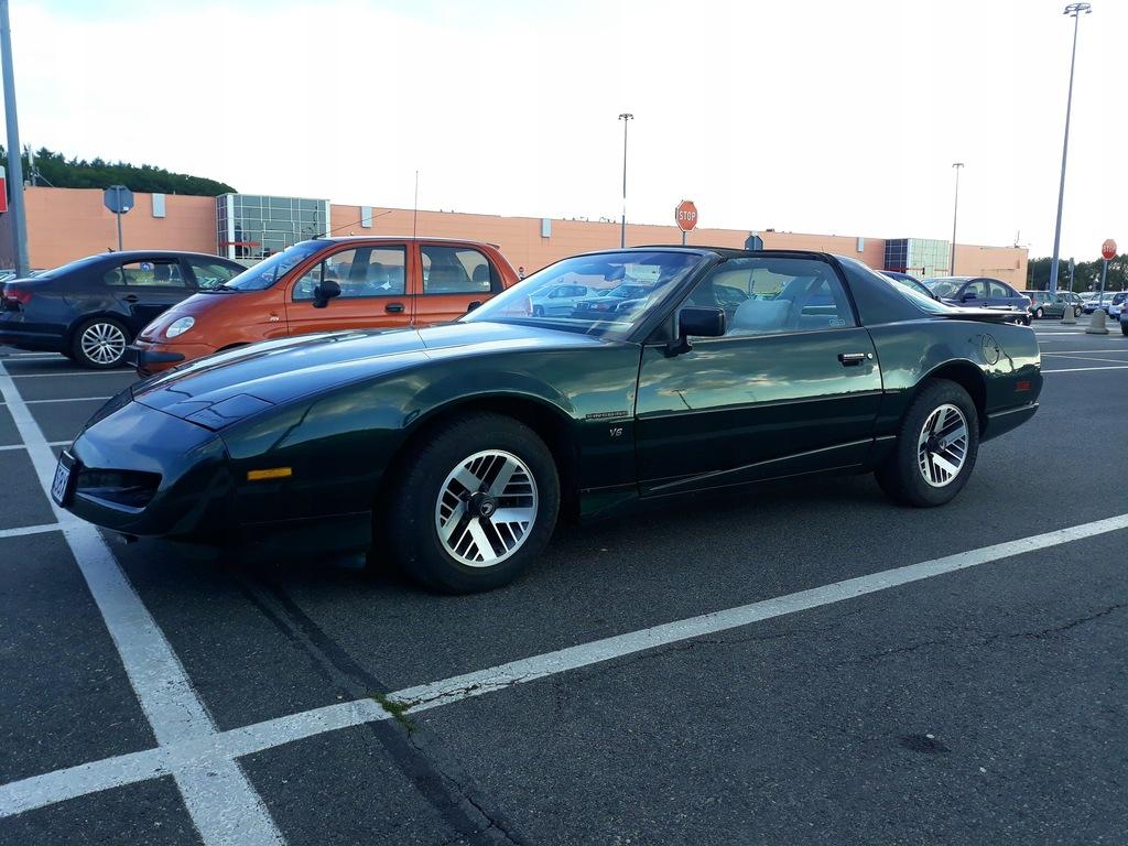 Pontiac Firebird 3 1 91 Dach Targa Zielony Unikat 9278054545 Oficjalne Archiwum Allegro