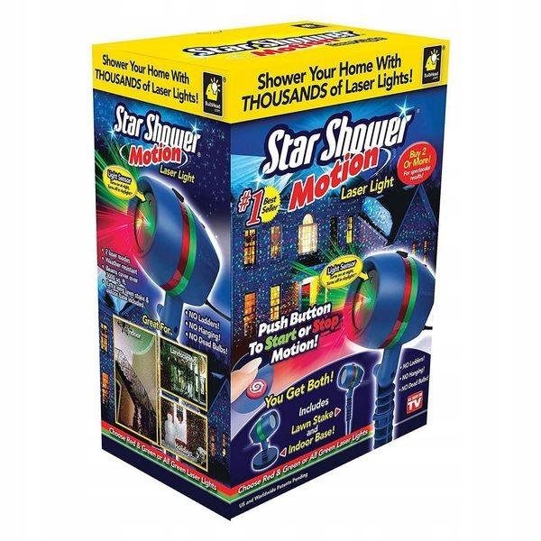Projektor Reflektor Laserowy Star Shower Motion 7653466664 Oficjalne Archiwum Allegro
