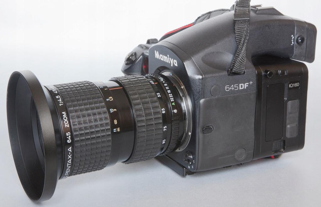Pentax zoom 45-85mm/4,5 do Mamiya 645 Phase One