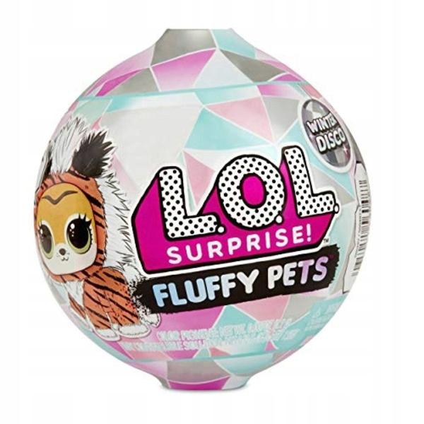 Lalka L.O.L. Surprise Fluffy Pets Winter Disco