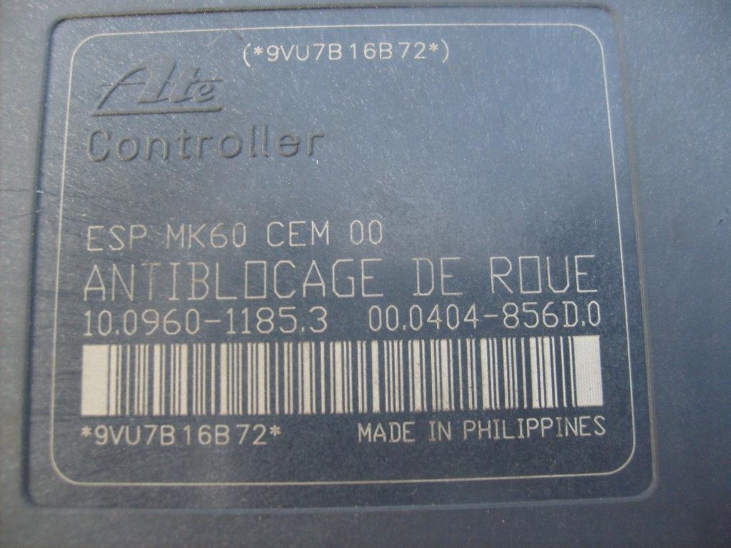 PEUGEOT 307 MK1 multi-fonction affichage écran 9640963777 D03 2001-2005