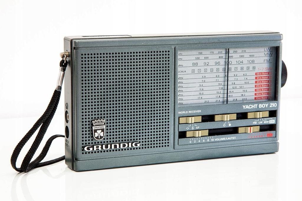 Radio globalne Grundig Yacht Boy 210 - vintage