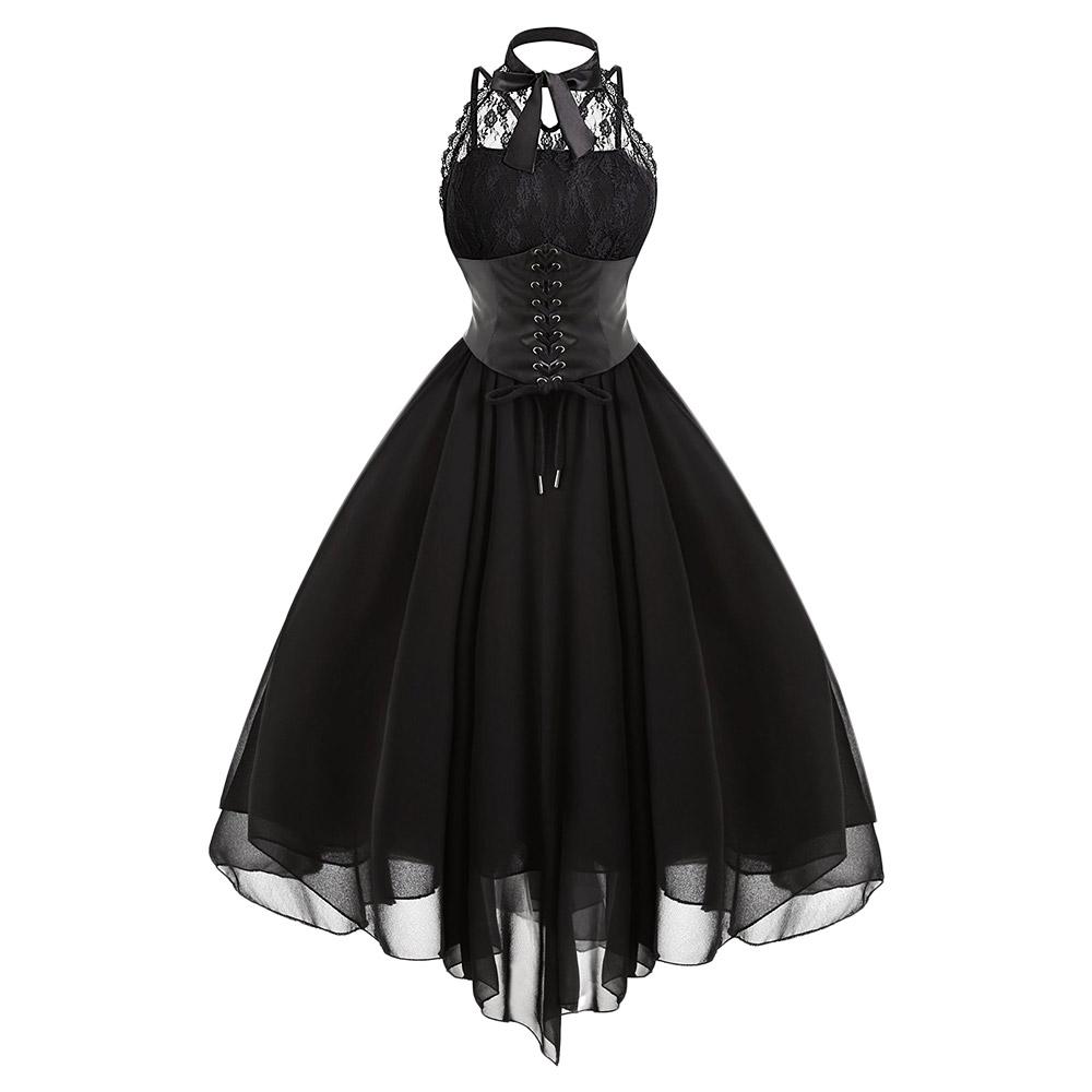 Sukienka Glam Rock Tiulowa Gorset Gotycka Koronka 8476801185 Oficjalne Archiwum Allegro