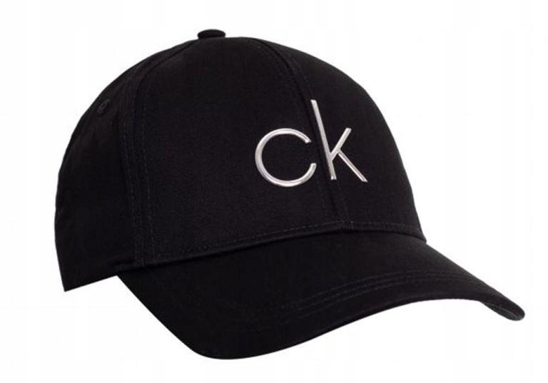 CALVIN KLEIN CZAPKA Z DASZKIEM CK BLACK K60K60684