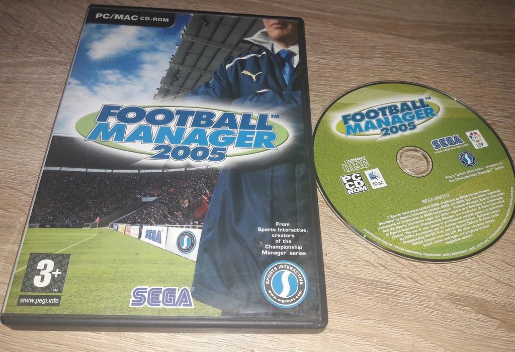 FOOTBALL MANAGER 2005 PC ANG