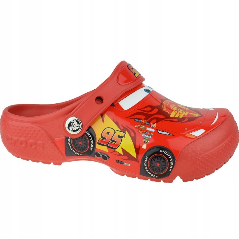 Klapki Crocs Fun Lab Cars Clog Jr 204116-8C1 33/34