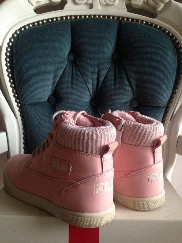 FILA buty zimowe ocieplane r. 34