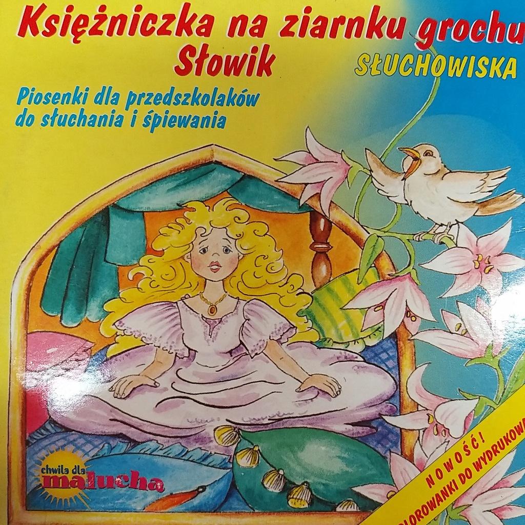 KSIĘŻNICZKA NA ZIARNKU GROCHU PIOSENKI CD K14
