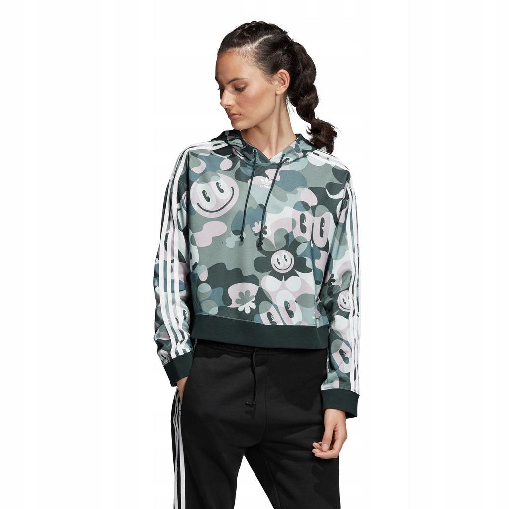 Bluza adidas Cropped DV2661 32