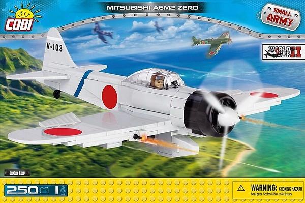 Cobi Mitsubishi A6M2 Zero myśliwiec japoński 5515