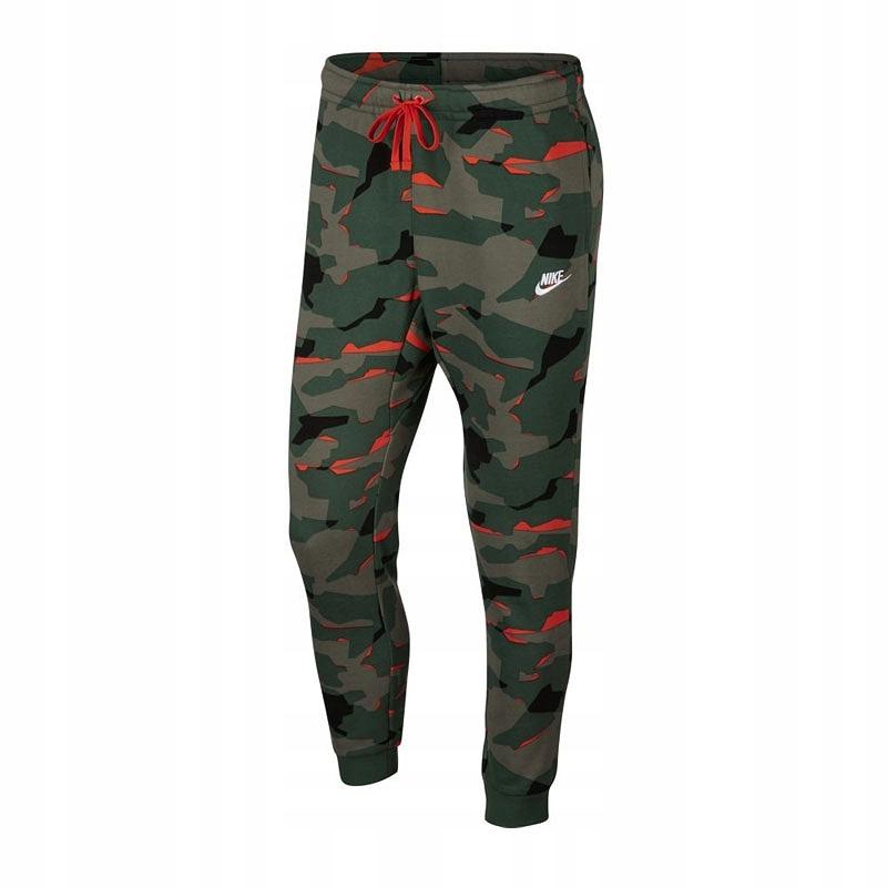 Spodnie dresowe NIKE NSW Club Camo AR1306 323 L