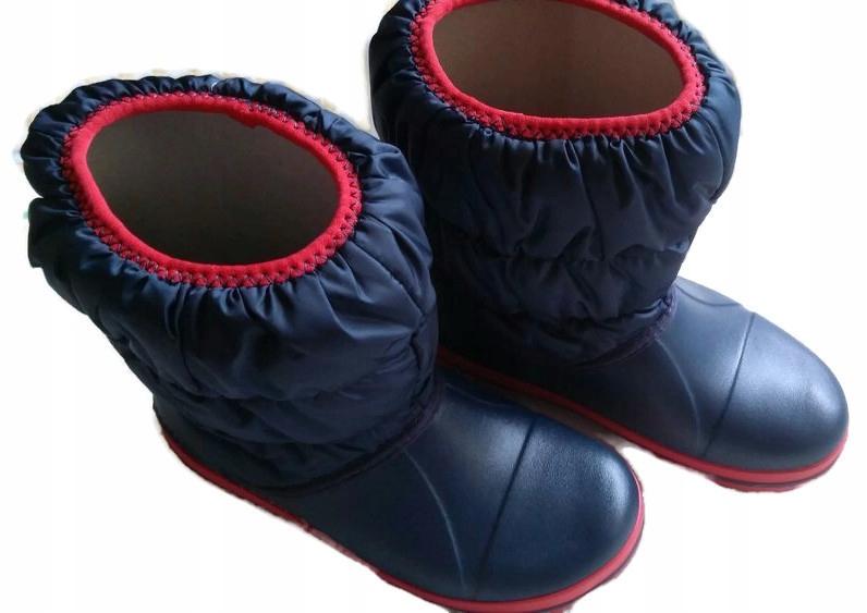 Crocs Winter Puff Boot Kids j2 33,5 21cm śniegowce