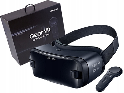 OKULARY SAMSUNG GEAR VR3 Z KONTROLEREM GALAXY S8