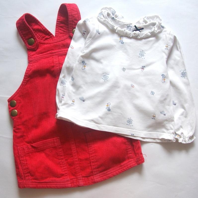 NEXT*Boski komplet Spódniczka +bluzka *92