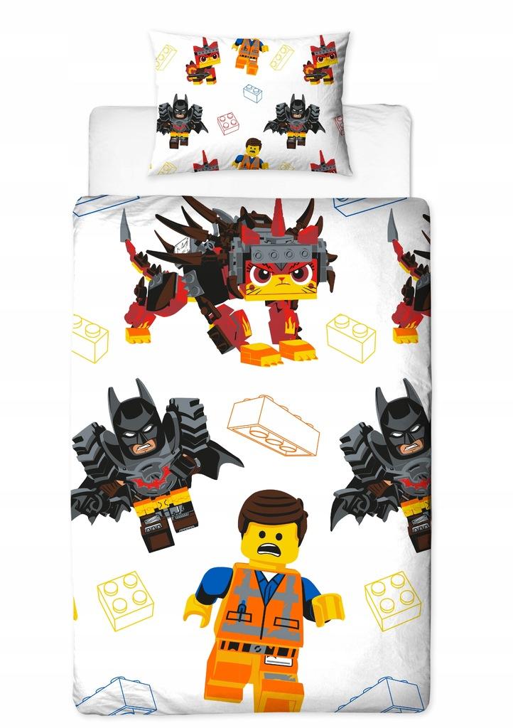 LEGO MOVIE 2 AWESOME POŚCIEL DWUSTRONNA 140x200