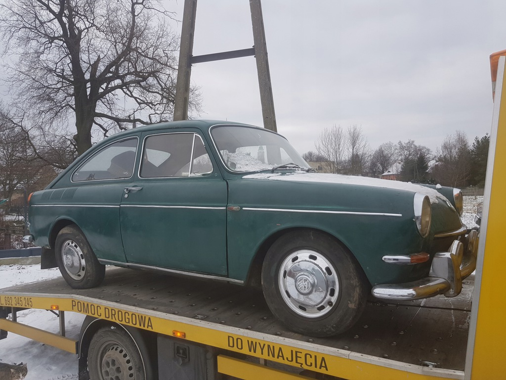 Volkswagen TL 1600, UNIKAT, 11800km, 62r.