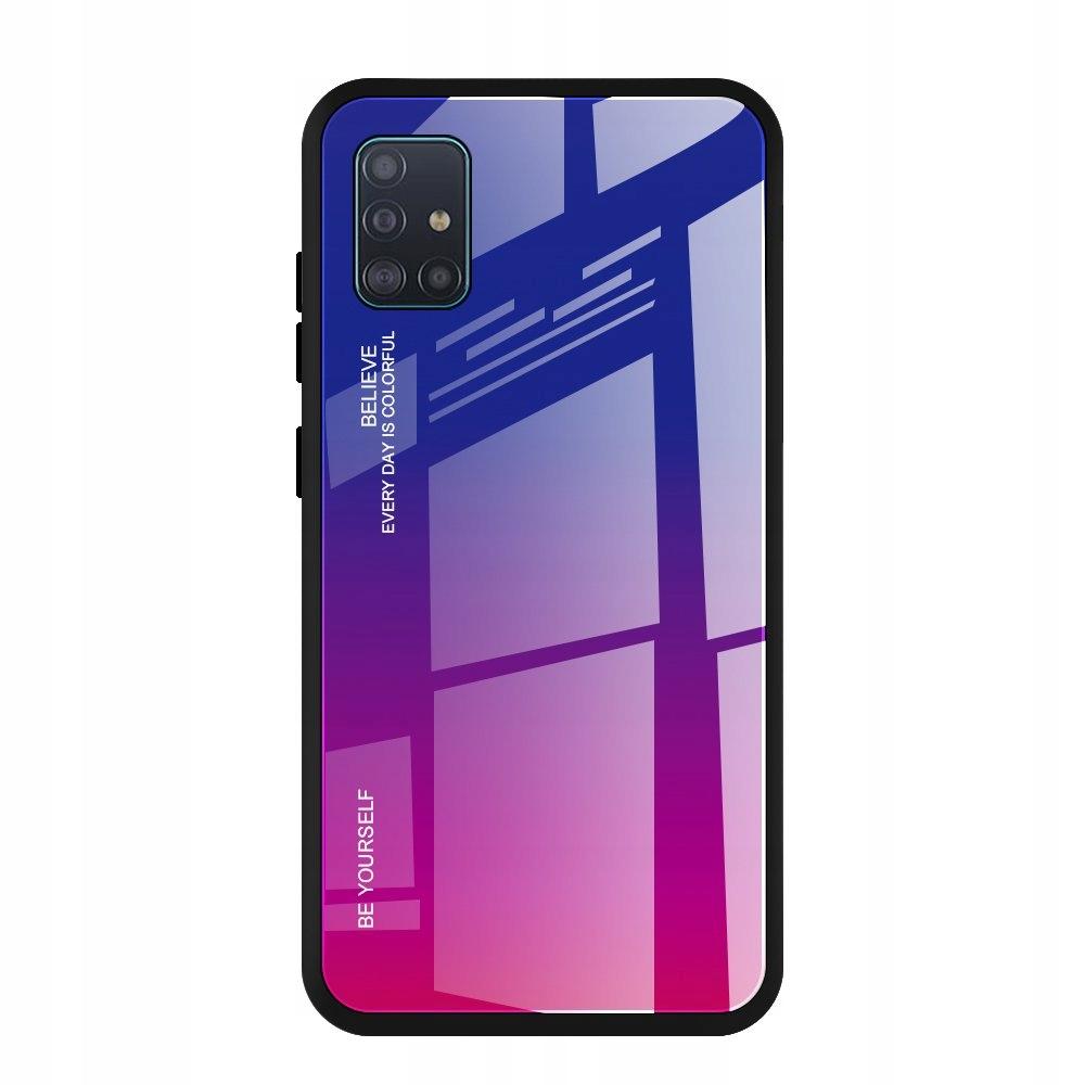 Etui do Samsung Galaxy A51 GRADIENT CASE + SZKŁO