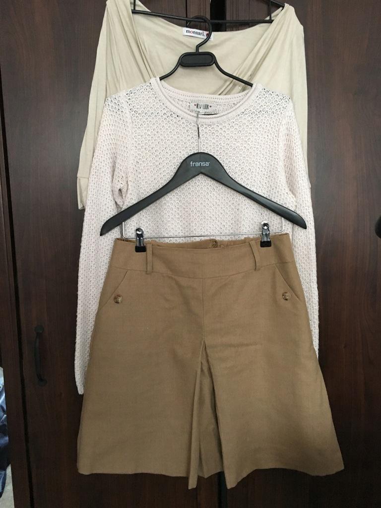 Bluzki, swetry, spódnica, spodnie.5 sztuk!!!