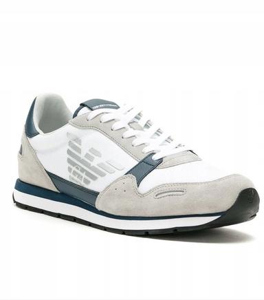 EMPORIO ARMANI Sneakersy Z LOGO r.43