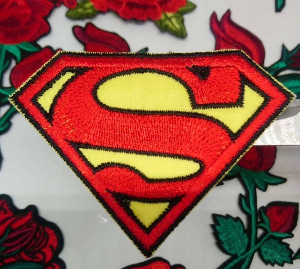 NASZYWKA Aplikacja Łatka termo SUPERMAN