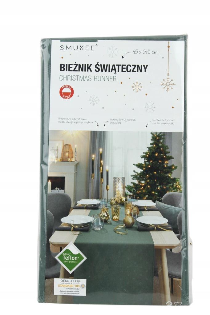 Bieżnik świąteczny 45x240 cm