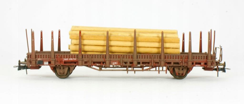 Roco. Wagon platforma z drzewem DB III ep.
