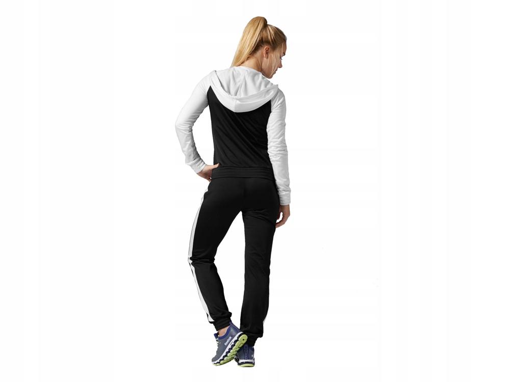 Reebok dres damski KOMPLET Z77373 bluza spodnie www