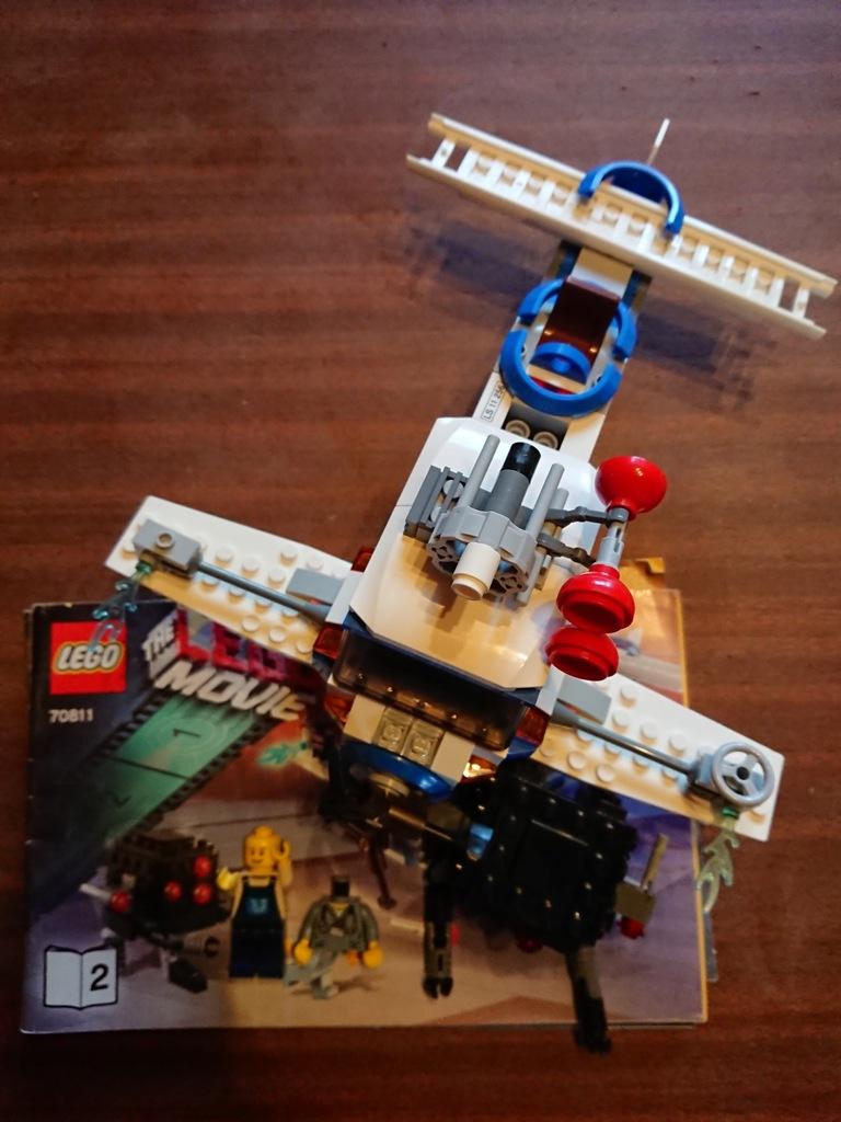 Lego 70811 The Lego Movie The Flying Flusher 7904796970 Oficjalne Archiwum Allegro
