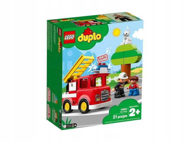 Zestaw LEGO DUPLO 10901 Wóz strażacki