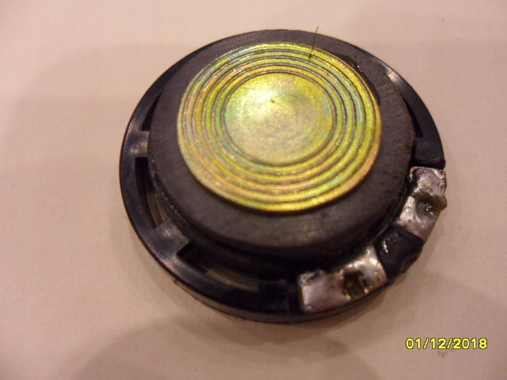 głośniki 8 ohm / 0,2 W średnica 29 mm