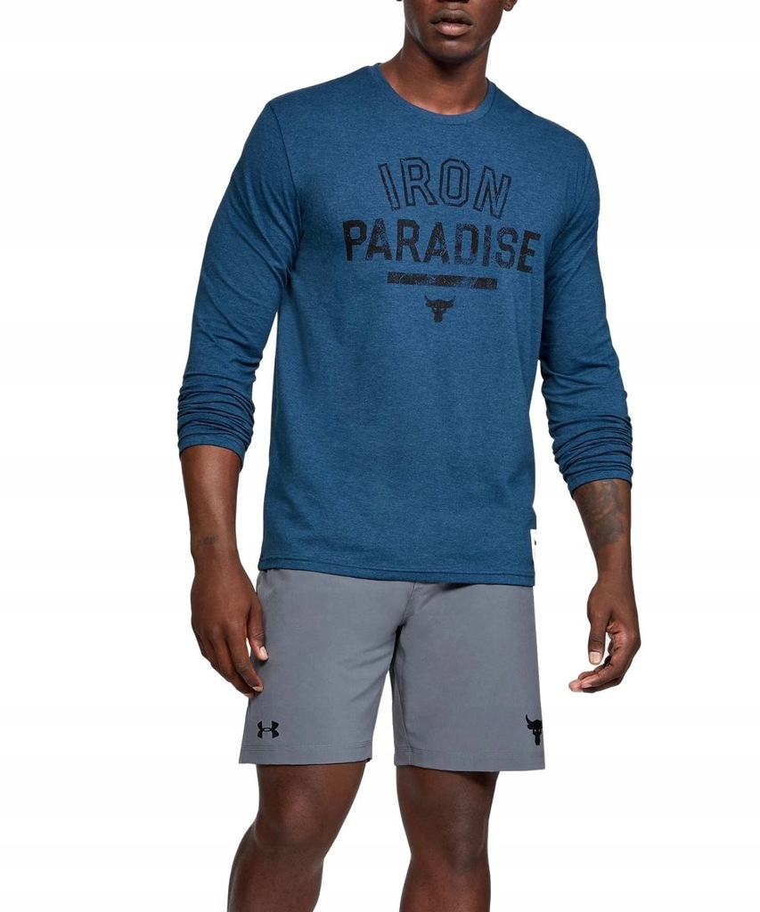 UNDER ARMOUR PROJECT ROCK IRON PARADISE bluza L