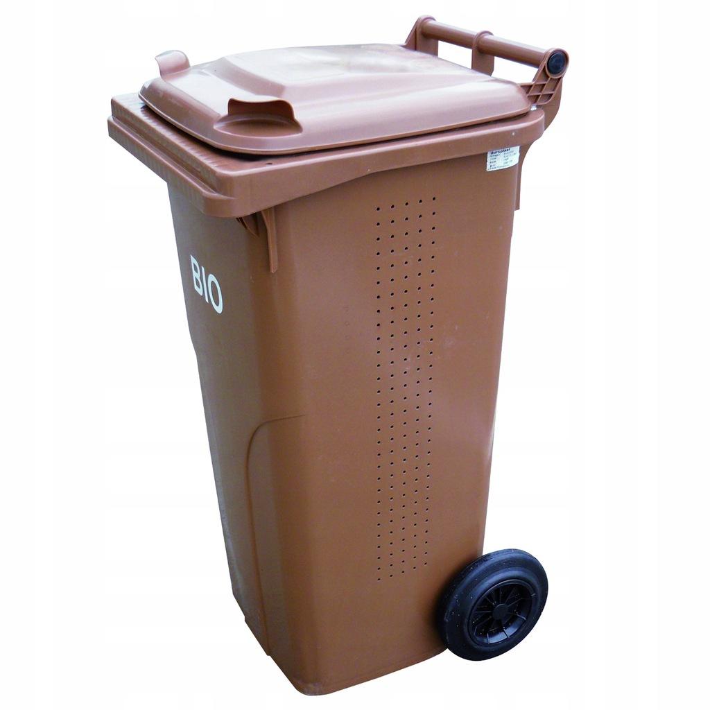 Pojemnik kubeł kosz do sortowania na śmieci 240L