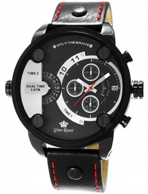 Zegarek Męski Gino Rossi 872A-1A3