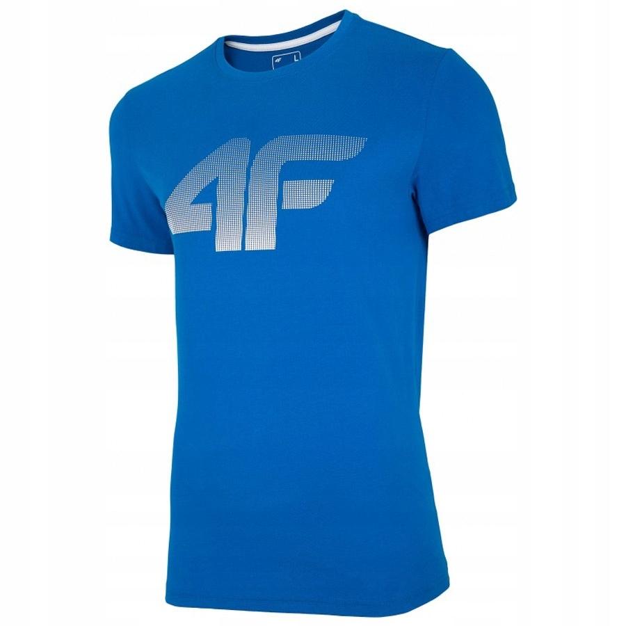 T-Shirt 4F NOSH4-TSM004 36S niebieski M!