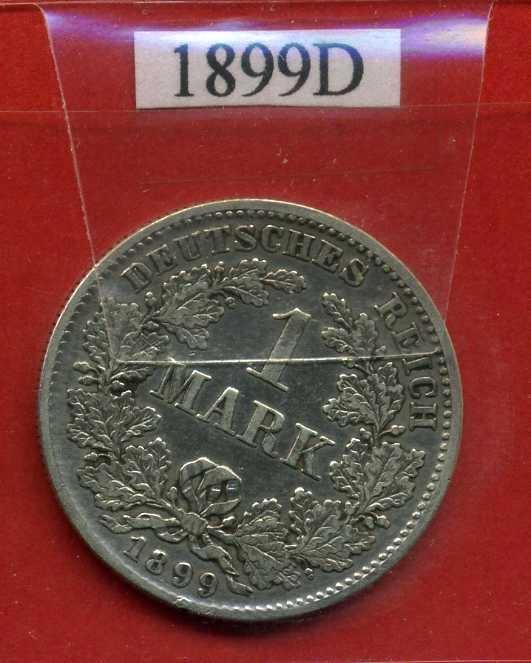 NIEMCY 1 MARKA 1899 D