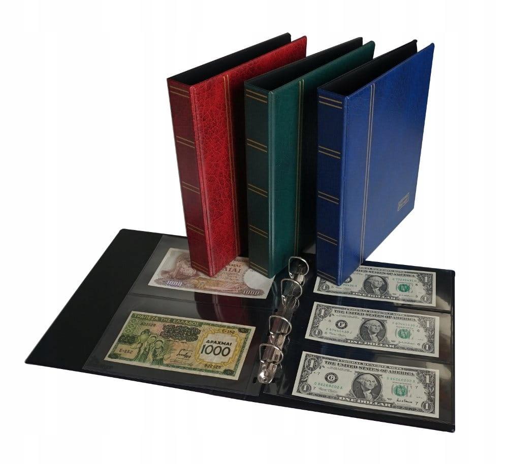 Klaser na banknoty polskie i zagraniczne