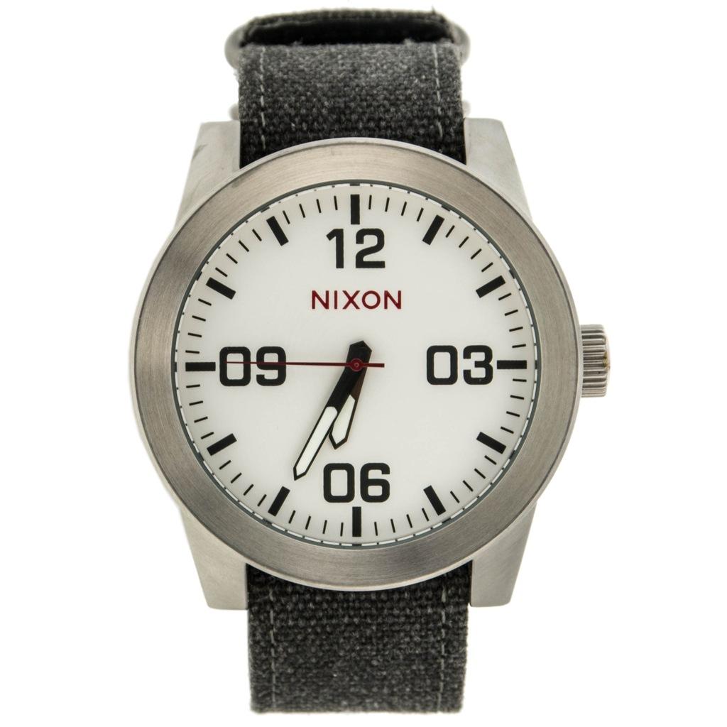 Zegarek męski NIXON A243.100-00 szary bcm