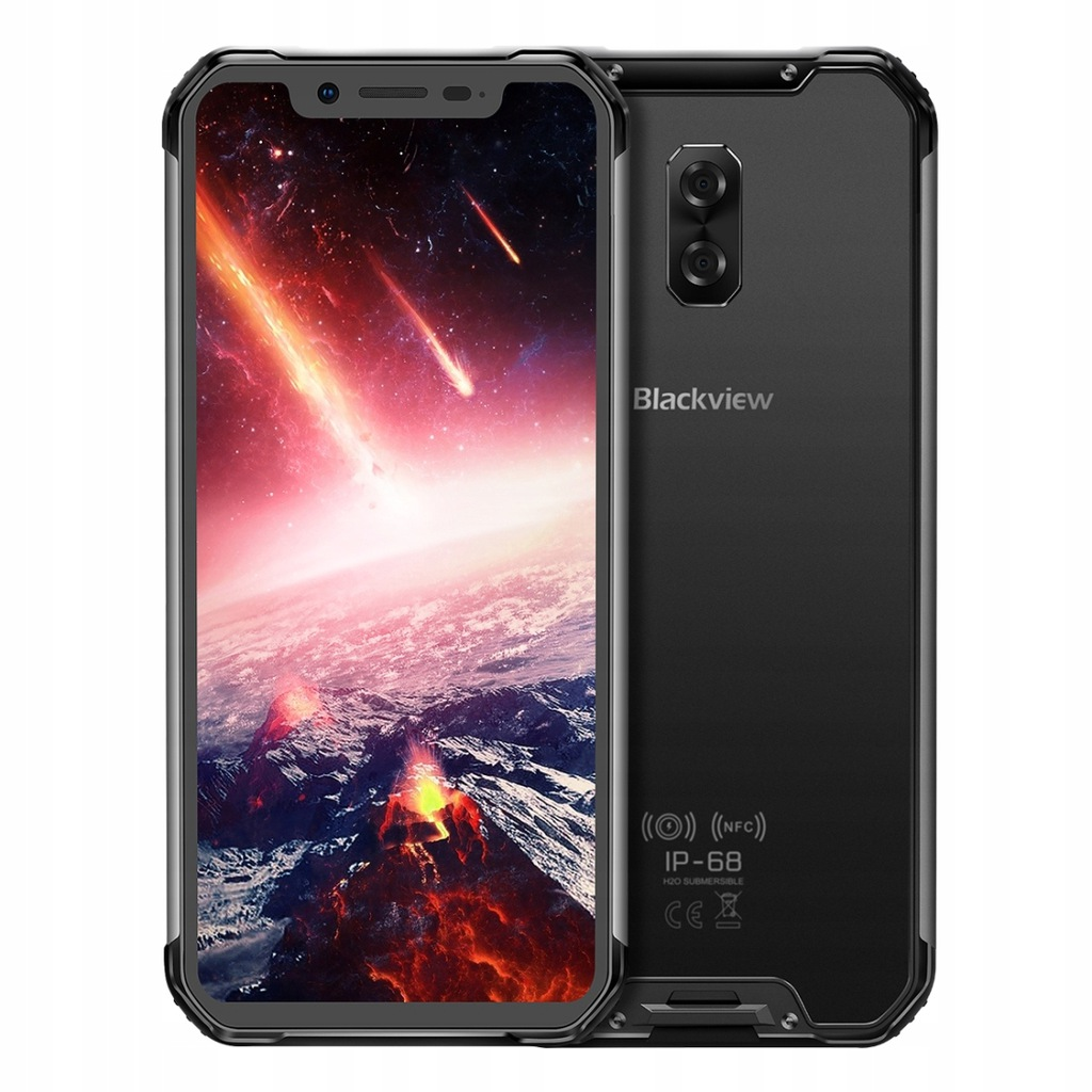 Telefon BLACKVIEW BV9600 PRO IP68 6/128GB CZARNY