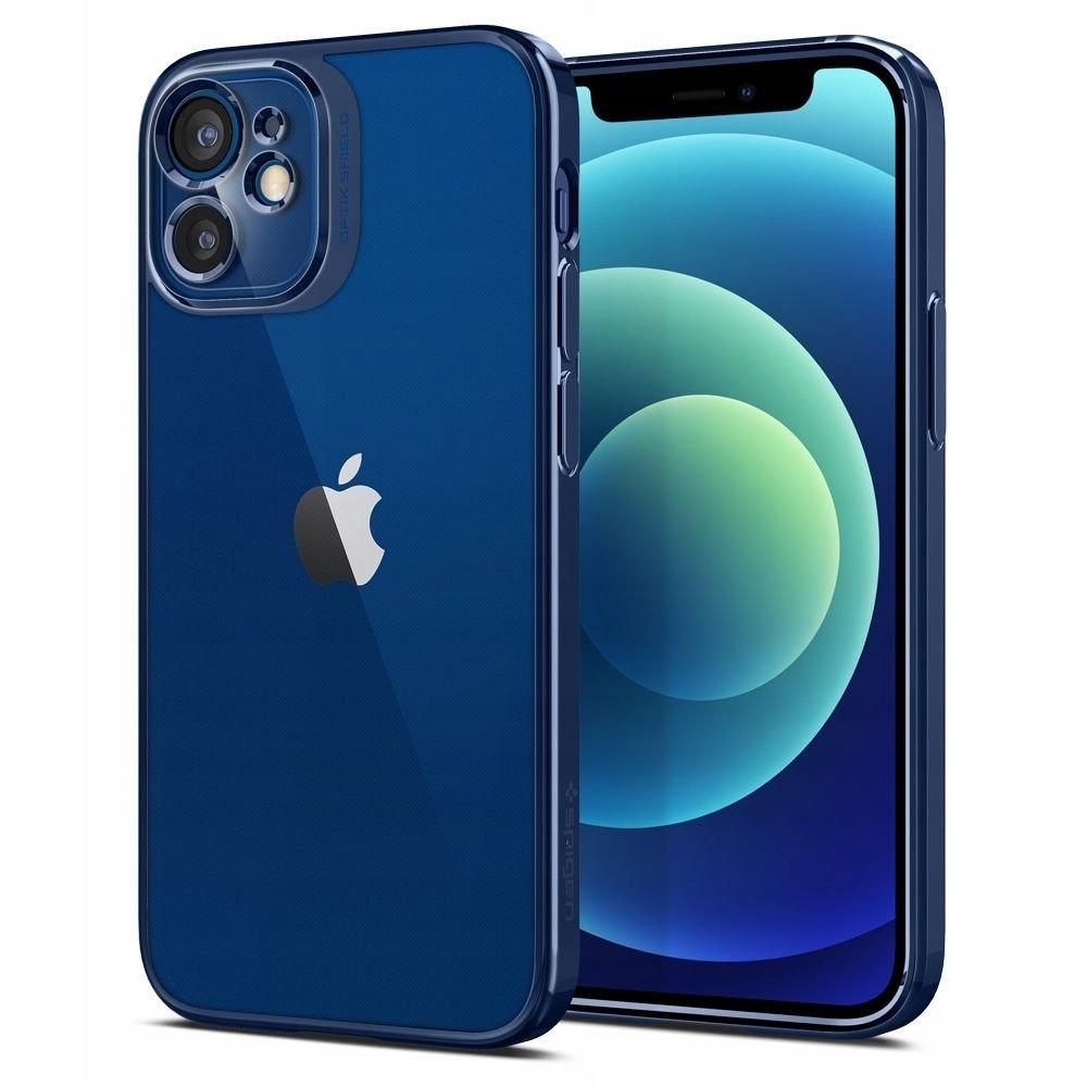 SPIGEN OPTIK CRYSTAL IPHONE 12 MINI CHROME BLUE
