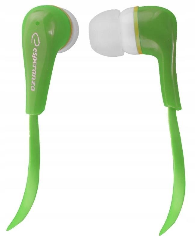 Słuchawki Esperanza Lollopop EH146G (kolor zielony