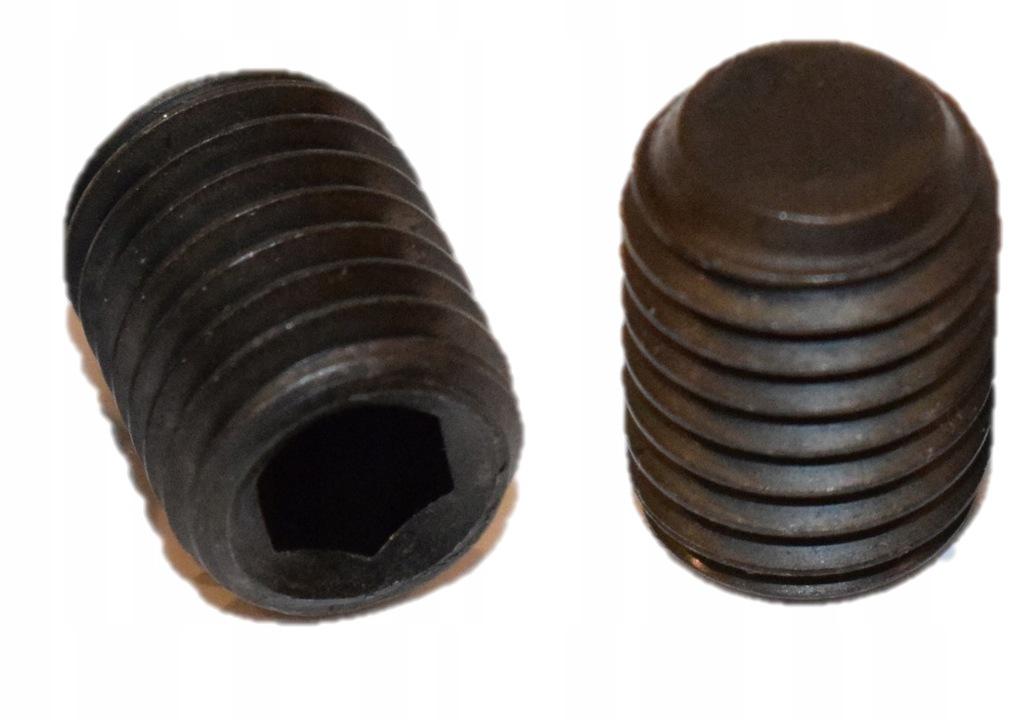 Wkręt dociskowy M12x50 45H ISO4026 DIN913 600szt.
